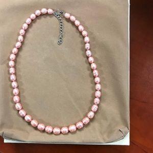 Honora Pink Freshwater Necklace & Bracelet Set